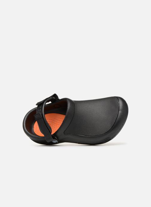 Mules et sabots Crocs Bistro Pro Clog W Noir vue gauche