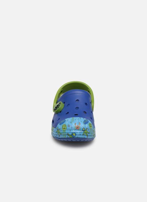 Sandales et nu-pieds Crocs Crocs Bump It Sea Life Clog K Bleu vue portées chaussures