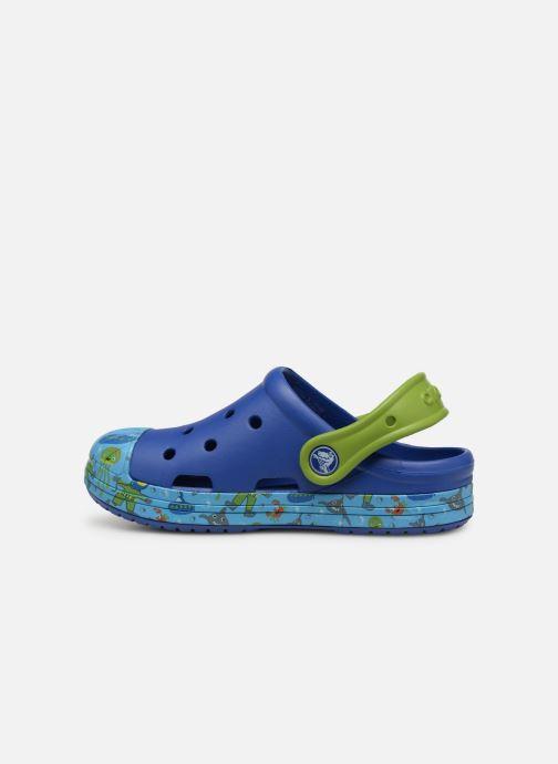 Sandales et nu-pieds Crocs Crocs Bump It Sea Life Clog K Bleu vue face