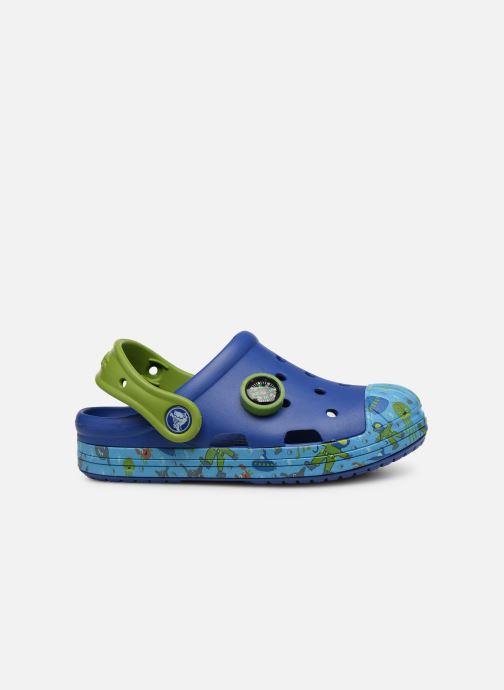 Sandales et nu-pieds Crocs Crocs Bump It Sea Life Clog K Bleu vue derrière