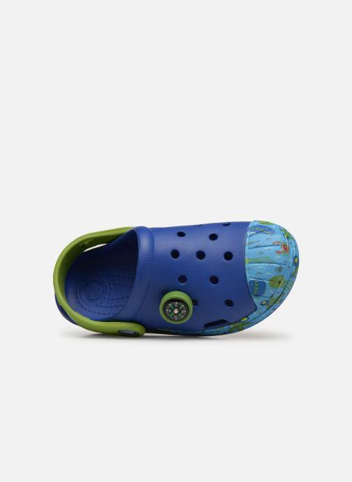Sandales et nu-pieds Crocs Crocs Bump It Sea Life Clog K Bleu vue gauche