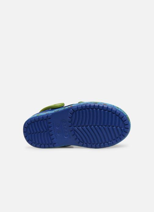 Sandales et nu-pieds Crocs Crocs Bump It Sea Life Clog K Bleu vue haut