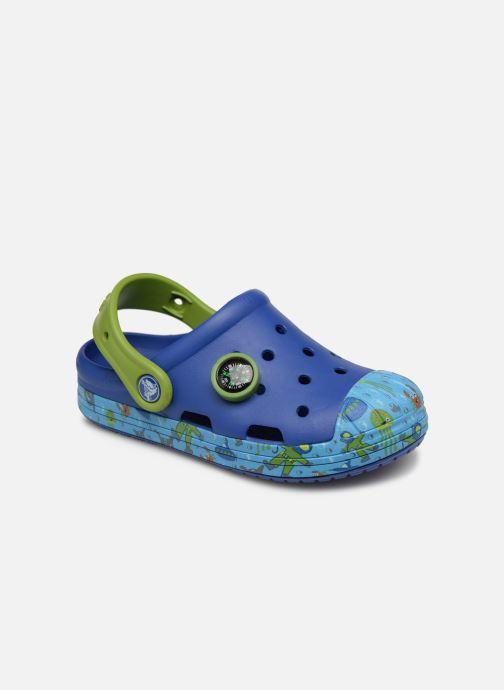 Sandales et nu-pieds Crocs Crocs Bump It Sea Life Clog K Bleu vue détail/paire