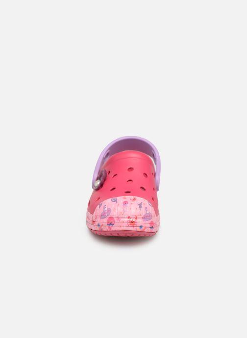 Sandales et nu-pieds Crocs Crocs Bump It Sea Life Clog K Rose vue portées chaussures