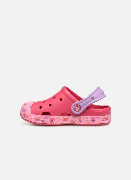 Sandales et nu-pieds Crocs Crocs Bump It Sea Life Clog K Rose vue face
