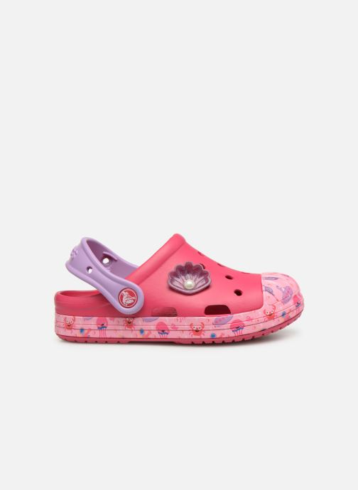 Sandales et nu-pieds Crocs Crocs Bump It Sea Life Clog K Rose vue derrière