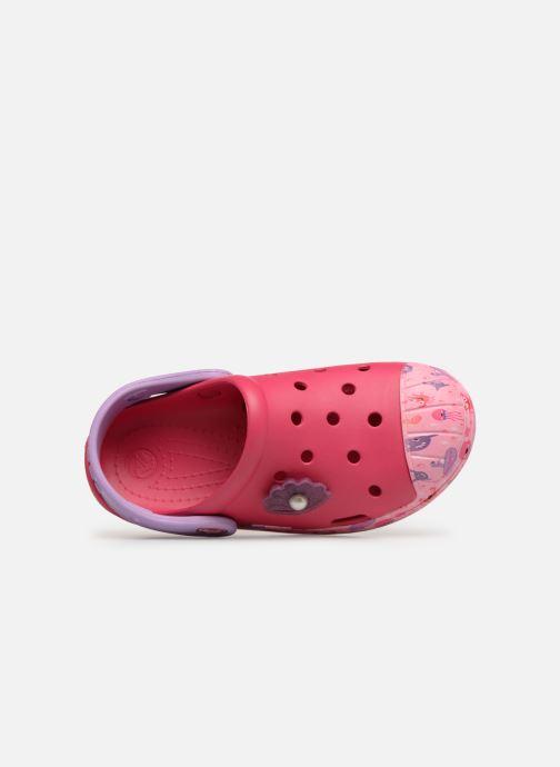 Sandales et nu-pieds Crocs Crocs Bump It Sea Life Clog K Rose vue gauche