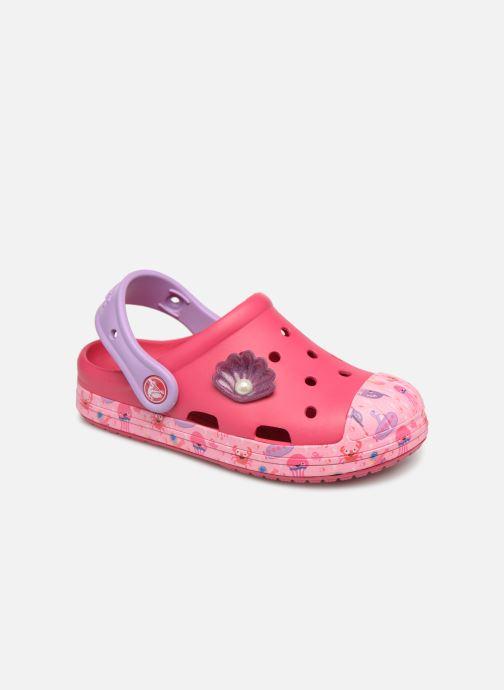 Sandales et nu-pieds Crocs Crocs Bump It Sea Life Clog K Rose vue détail/paire