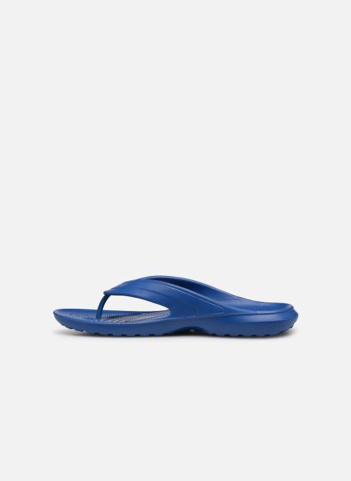 Tongs Crocs Classic Flip H Bleu vue face