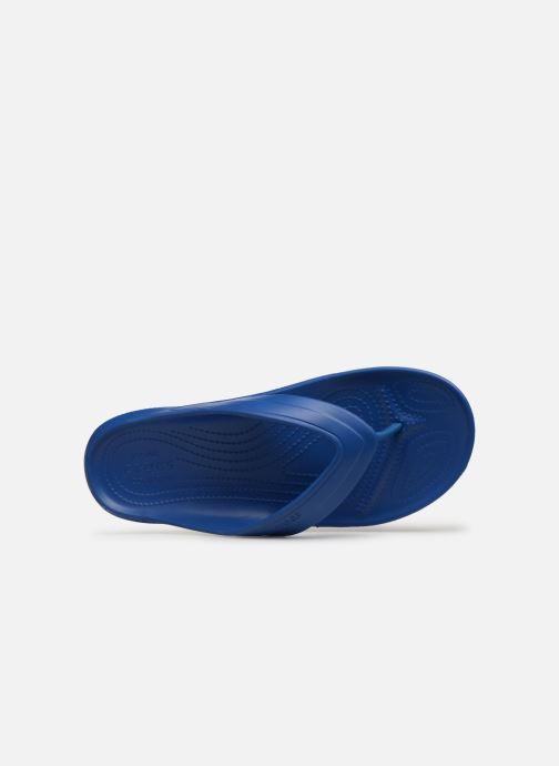 Tongs Crocs Classic Flip H Bleu vue gauche