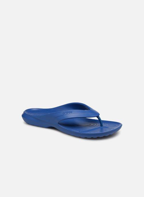 Tongs Crocs Classic Flip H Bleu vue détail/paire
