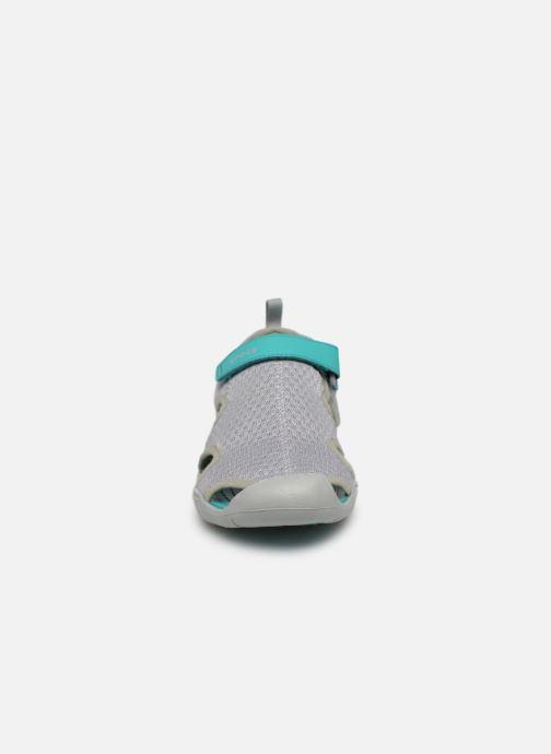 Crocs Swiftwater Mesh Sandal W (Gris) - Sandales et nu-pieds (367010)