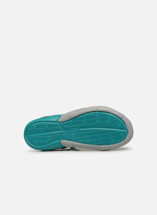 Sandalias Crocs Swiftwater Mesh Sandal W Gris vista de arriba