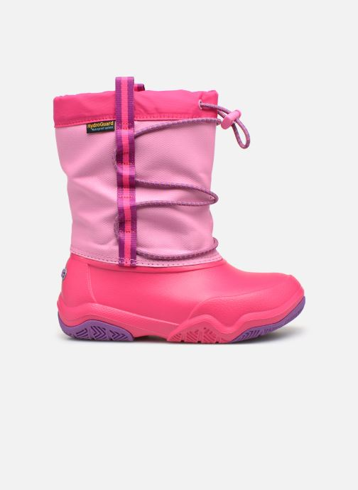Chaussures de sport Crocs Swiftwater Waterproof Boot K Rose vue derrière