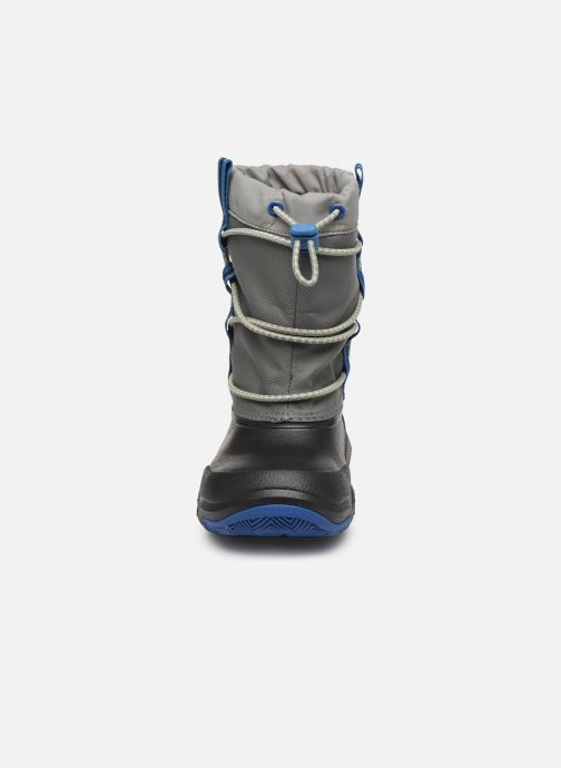 Sportschuhe Crocs Swiftwater Waterproof Boot K blau schuhe getragen