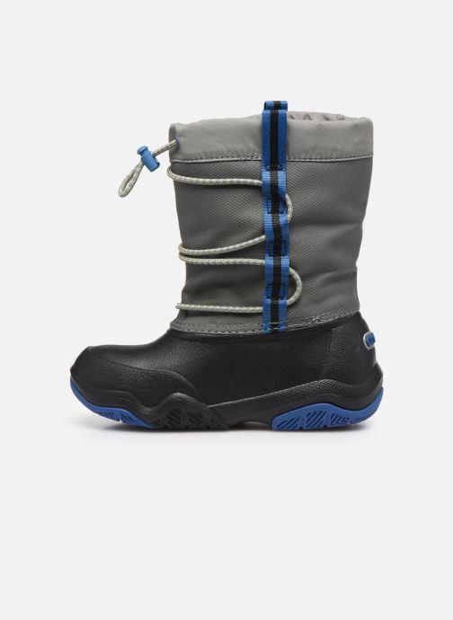 Scarpe sportive Crocs Swiftwater Waterproof Boot K Azzurro immagine frontale