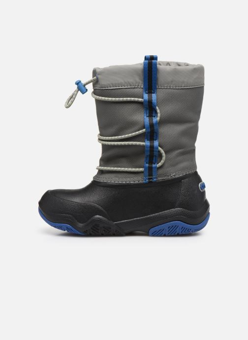 Chaussures de sport Crocs Swiftwater Waterproof Boot K Bleu vue face