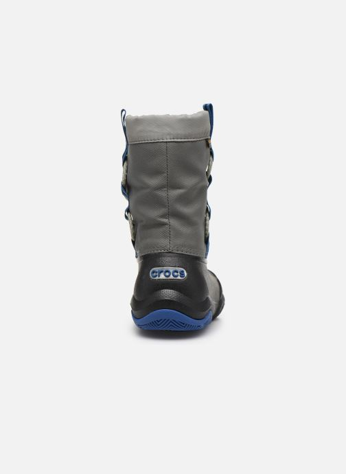 Zapatillas de deporte Crocs Swiftwater Waterproof Boot K Azul vista lateral derecha