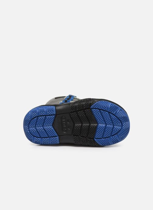 Zapatillas de deporte Crocs Swiftwater Waterproof Boot K Azul vista de arriba
