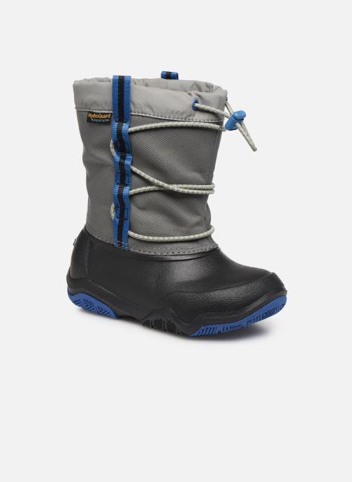Chaussures de sport Crocs Swiftwater Waterproof Boot K Bleu vue détail/paire