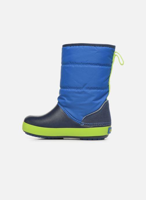Sandales et nu-pieds Crocs LodgePoint Snow Boot K Rouge vue face