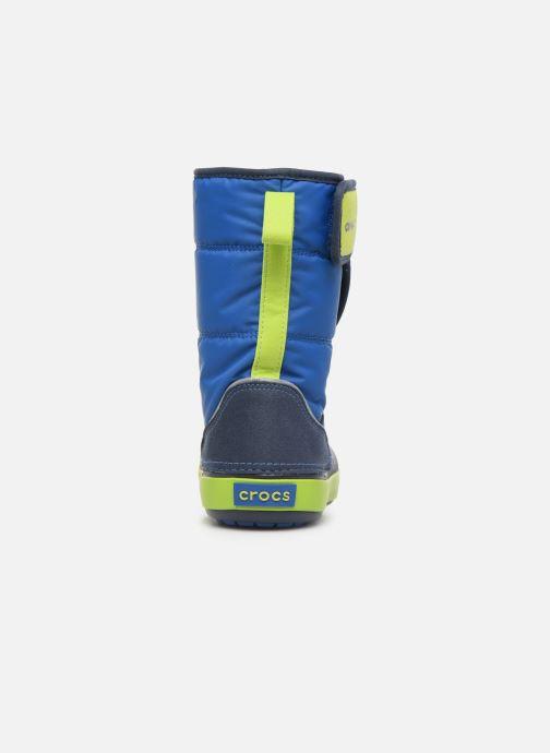 Sandales et nu-pieds Crocs LodgePoint Snow Boot K Rouge vue droite