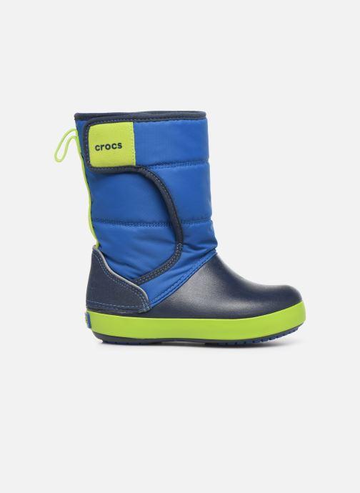 Sandales et nu-pieds Crocs LodgePoint Snow Boot K Rouge vue derrière