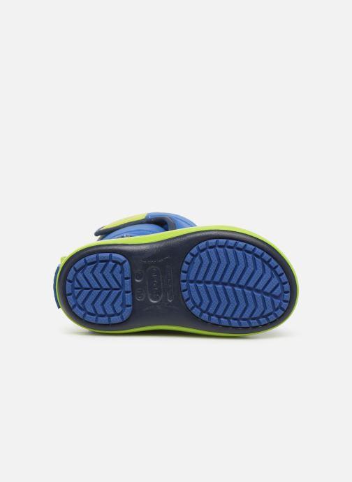 Sandales et nu-pieds Crocs LodgePoint Snow Boot K Rouge vue haut