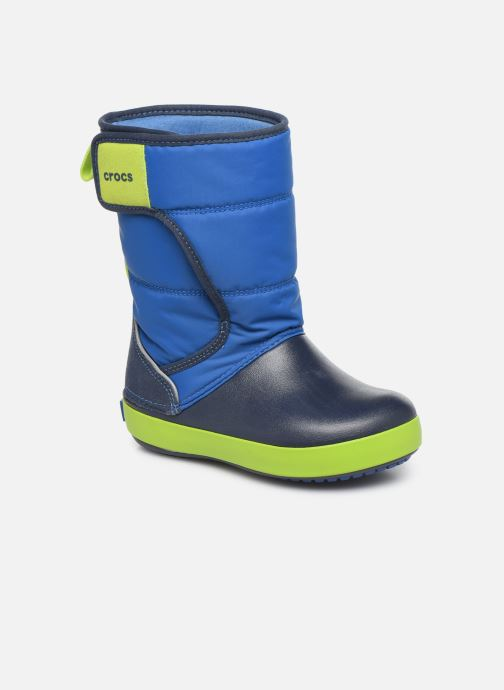 Sandales et nu-pieds Crocs LodgePoint Snow Boot K Rouge vue détail/paire