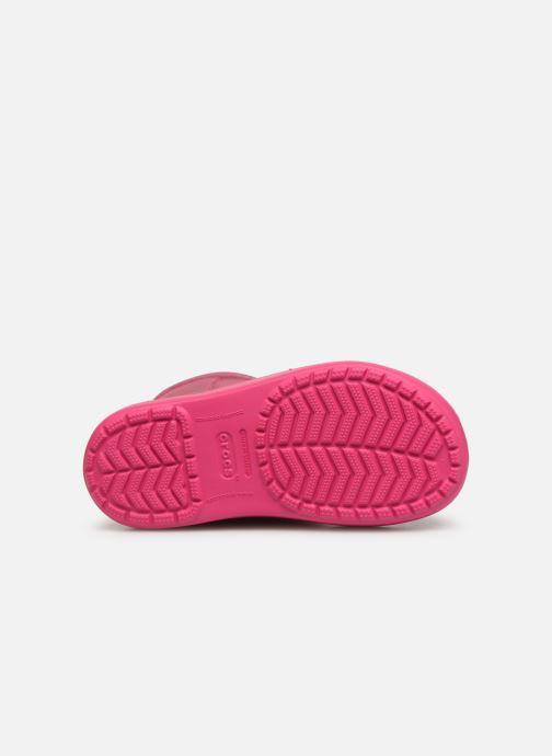 Chaussures de sport Crocs LodgePoint Novelty Boot K Rose vue haut