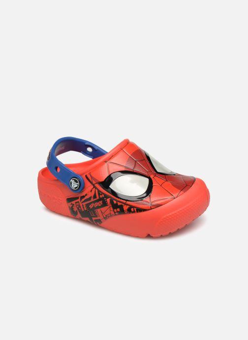 Sandales et nu-pieds Crocs Crocs Funlab K Rouge vue détail/paire