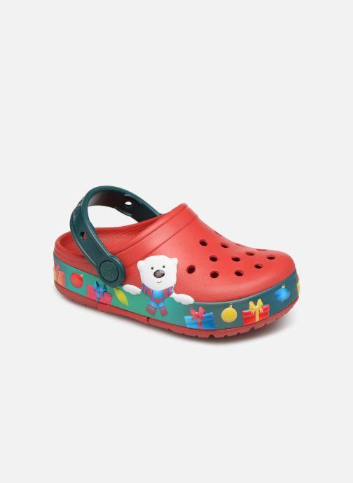 Sandales et nu-pieds Crocs Crocs Funlab K Violet vue détail/paire
