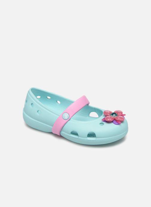 Bailarinas Crocs Keeley Spingtime Flat PS Azul vista de detalle / par