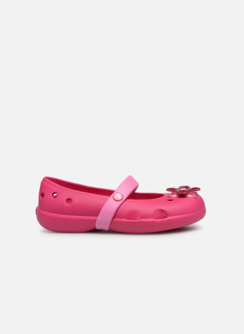 Ballet pumps Crocs Keeley Spingtime Flat PS Pink back view