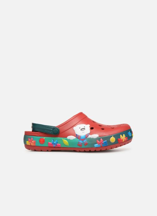 Sandales et nu-pieds Crocs Crocband Lights Holiday Clog Rouge vue derrière