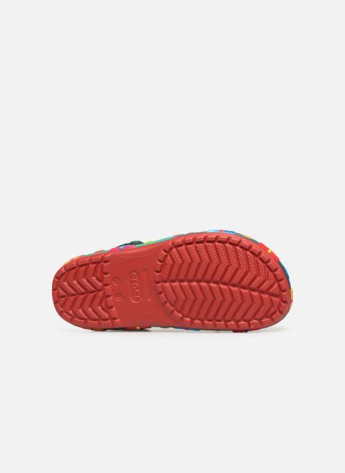 Sandales et nu-pieds Crocs Crocband Lights Holiday Clog Rouge vue haut