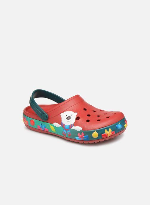 Sandales et nu-pieds Crocs Crocband Lights Holiday Clog W Bleu vue détail/paire