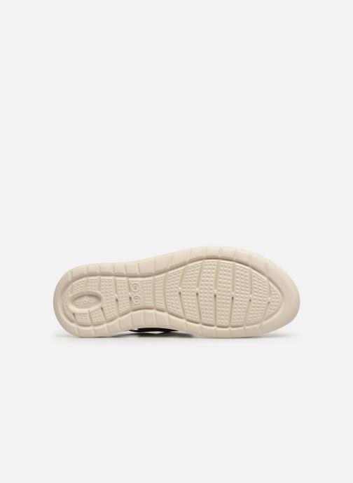 Sandalias Crocs LiteRide Graphic Sandal W Gris vista de arriba