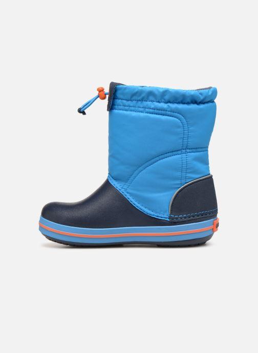 Chaussures de sport Crocs Crocband LodgePoint Boot K Bleu vue face