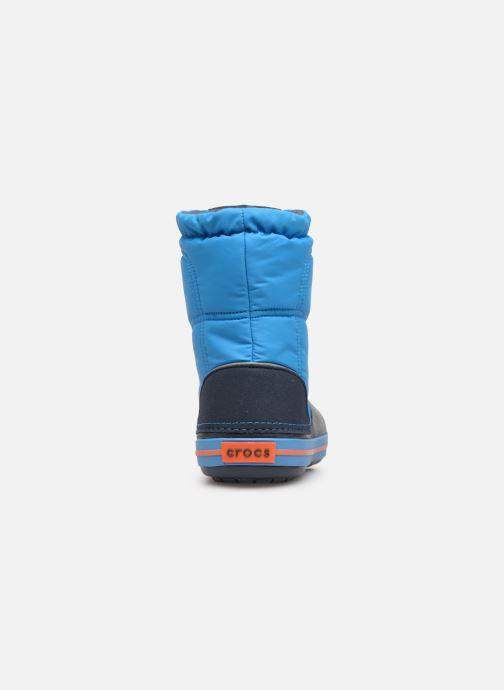 Chaussures de sport Crocs Crocband LodgePoint Boot K Bleu vue droite
