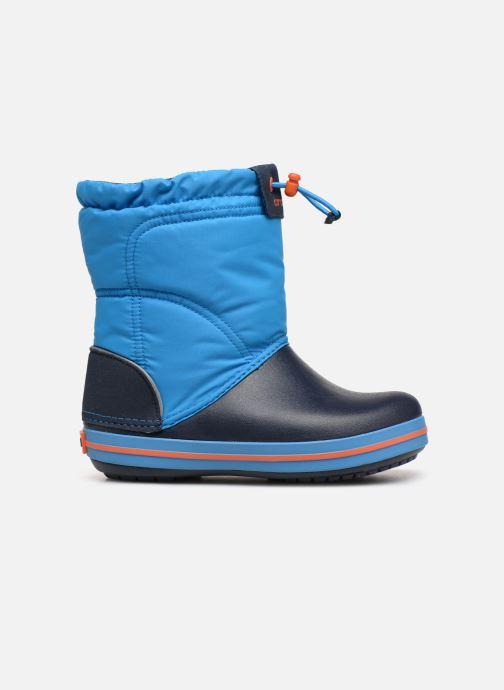 Scarpe sportive Crocs Crocband LodgePoint Boot K Azzurro immagine posteriore