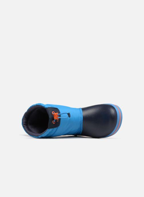 Sportschoenen Crocs Crocband LodgePoint Boot K Blauw links