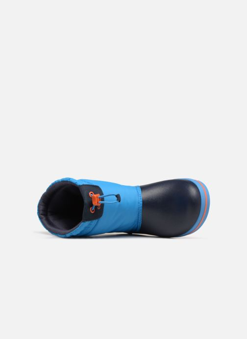 Scarpe sportive Crocs Crocband LodgePoint Boot K Azzurro immagine sinistra