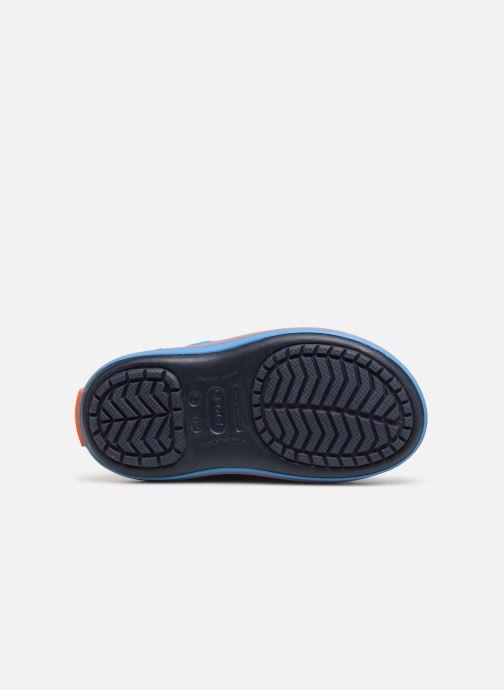 Scarpe sportive Crocs Crocband LodgePoint Boot K Azzurro immagine dall'alto