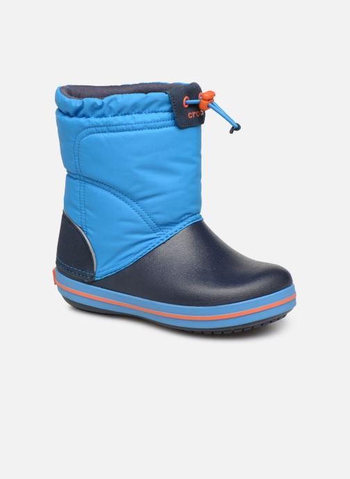 Chaussures de sport Crocs Crocband LodgePoint Boot K Bleu vue détail/paire
