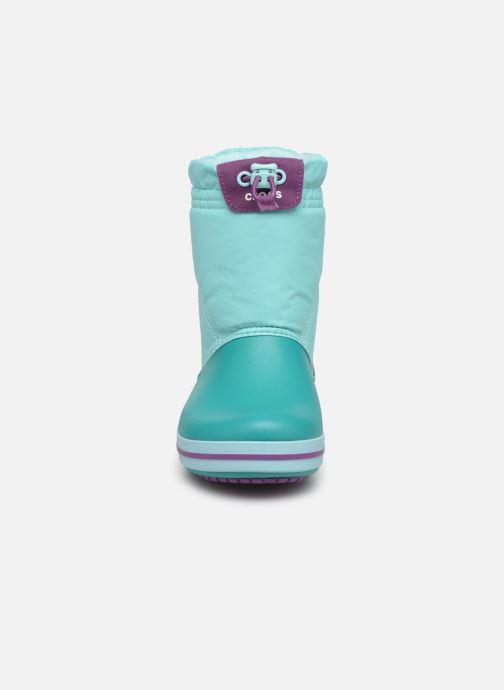 Zapatillas de deporte Crocs Crocband LodgePoint Boot K Azul vista del modelo