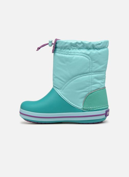 Zapatillas de deporte Crocs Crocband LodgePoint Boot K Azul vista de frente