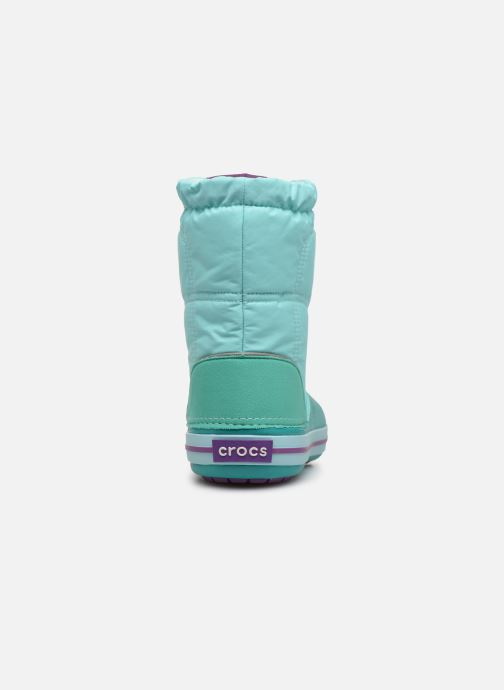 Zapatillas de deporte Crocs Crocband LodgePoint Boot K Azul vista lateral derecha