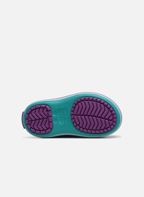 Zapatillas de deporte Crocs Crocband LodgePoint Boot K Azul vista de arriba