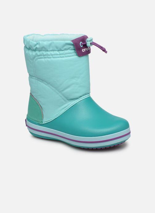 Zapatillas de deporte Crocs Crocband LodgePoint Boot K Azul vista de detalle / par
